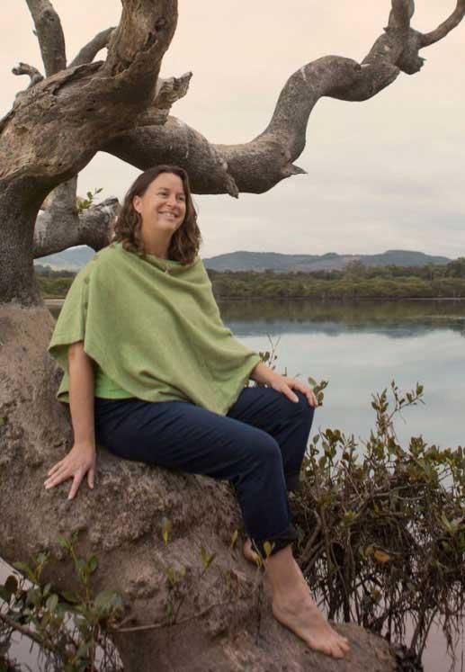 Freya Dawson at Killalea