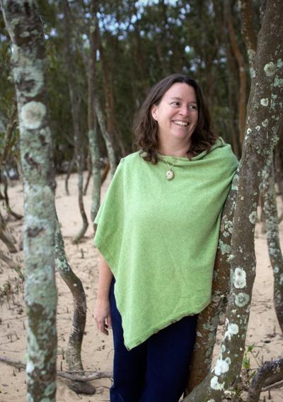 Freya in the mangroves at Killalea